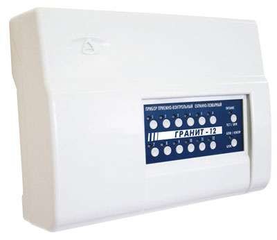Fire alarm Control Panel Granit 12-IP