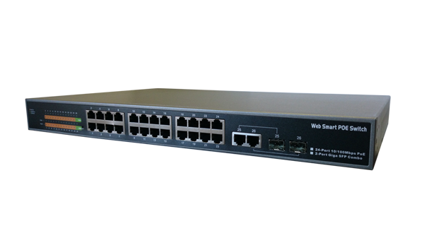 PoE-switch SVI-PS224