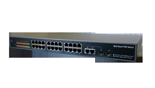PoE-switch SVI-PS224