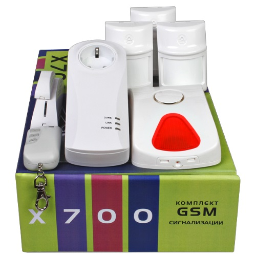 Set wireless GSM Alarm system X700