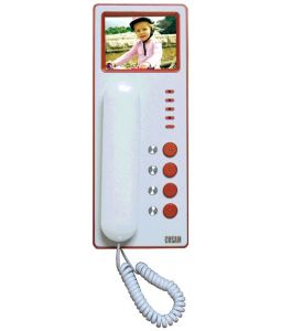 Video Door Phone-Indoor Phone CS-300V-8-300px
