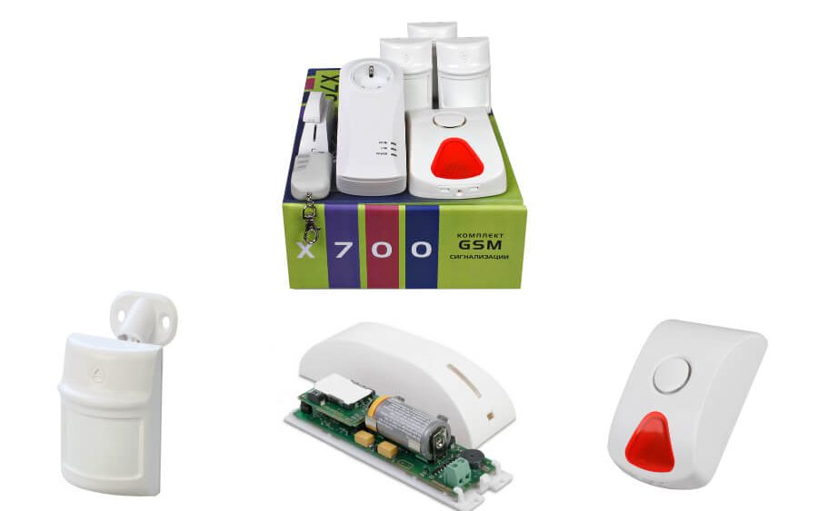 Budgetary line of security alarm system for small objects